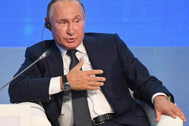 Путин: России удалось избежать рецессии