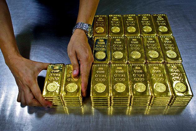 Международные резервы России за неделю сократились на $1,4 млрд