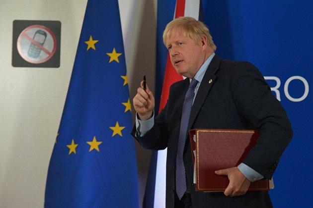 WSJ: Стратегия игры в Brexit Бориса Джонсона