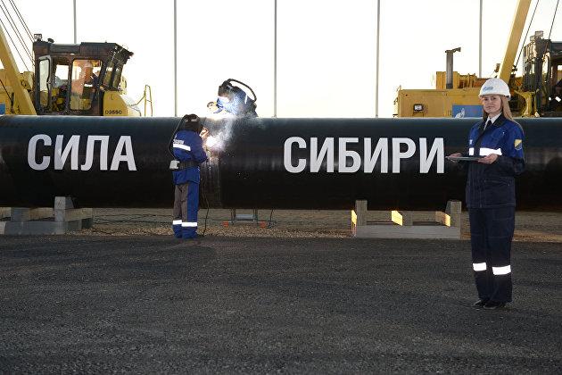 830621302 - Поставки российского газа в Китай побили очередной рекорд
