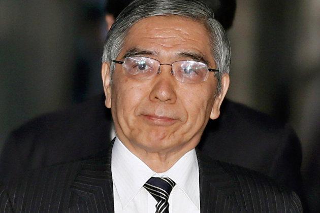 Харухико Курода - глава ЦБ Японии