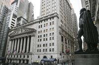 """"""" Здание Нью-Йоркской фондовой биржи"""