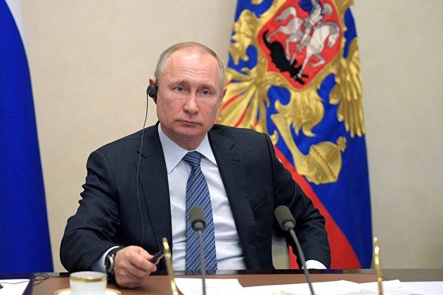 Путин заявил, что пандемия коронавируса обернется масштабными потрясениями
