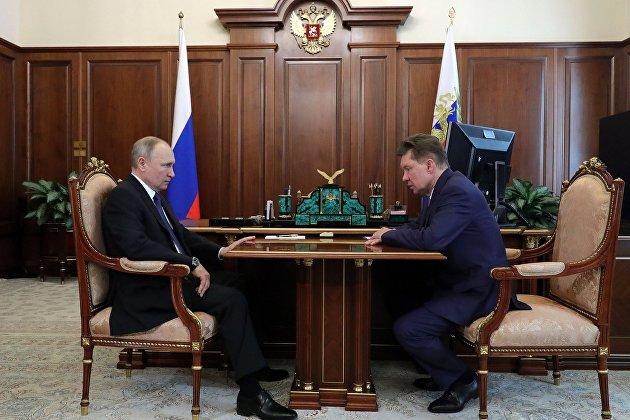 """Миллер: рынок газа снизился, но """"Газпром"""" с оптимизмом смотрит на III-IV кварталы"""