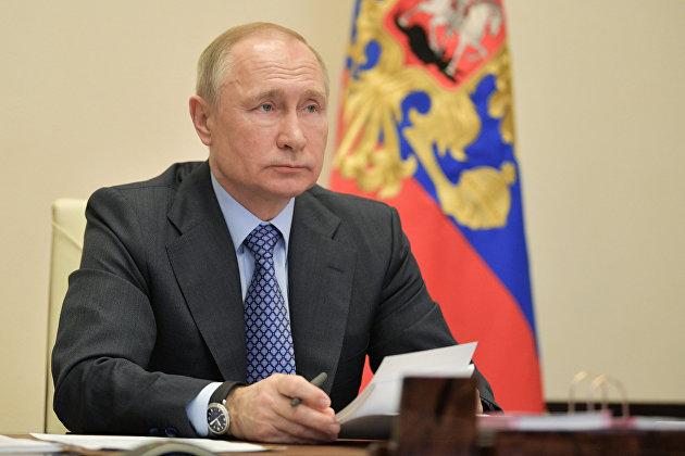 831262217 - Путин проводит совещание по социальным вопросам