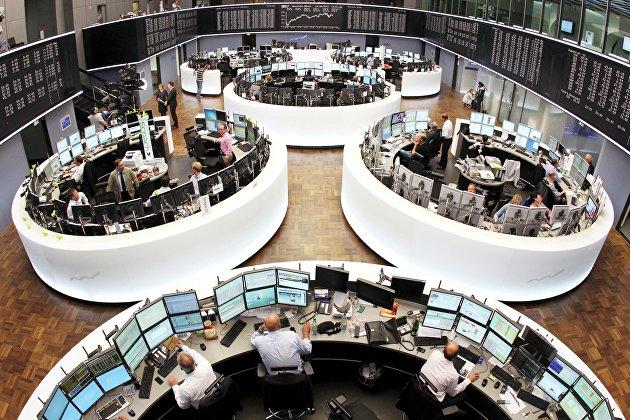 Фондовые биржи Европы снижаются