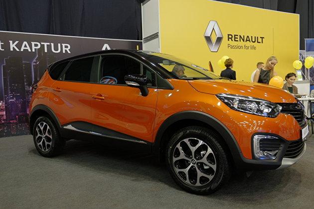 Renault впервые представил обновленный кроссовер Kaptur в режиме онлайн