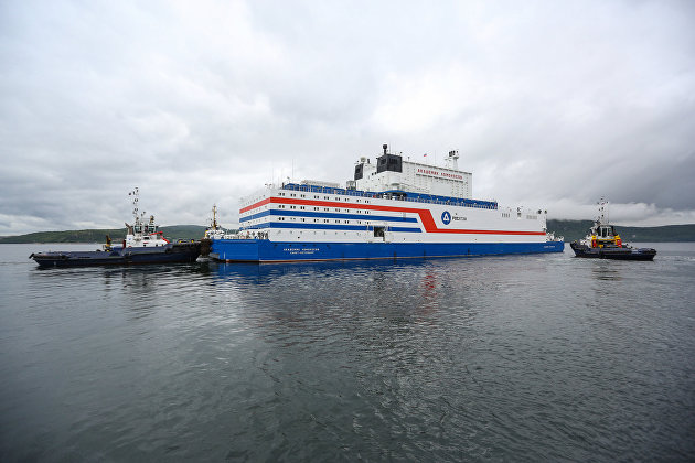 Первая в мире российская плавучая АЭС введена в эксплуатацию