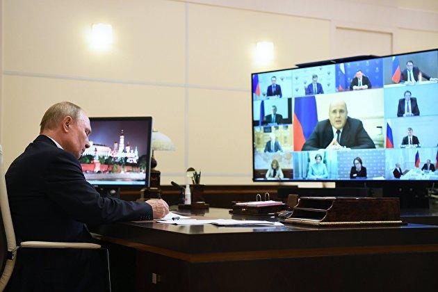 Мишустин во вторник доложит Путину о плане по восстановлению экономики