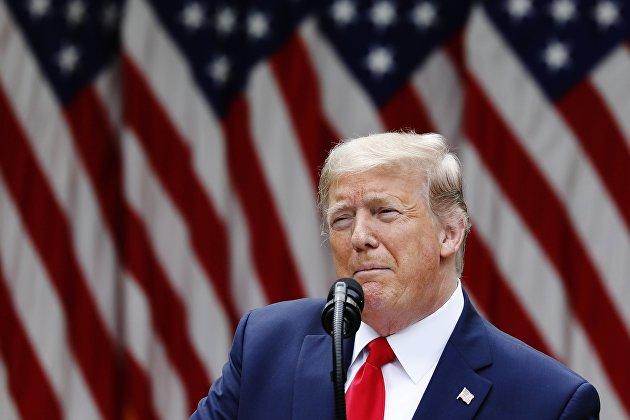 """Трамп уверен, что данные экономики за """"фантастический"""" 3 квартал помогут ему на выборах"""