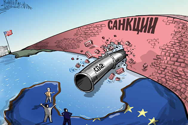 """США и Германия сойдутся в последней битве по """"Северному потоку-2"""""""
