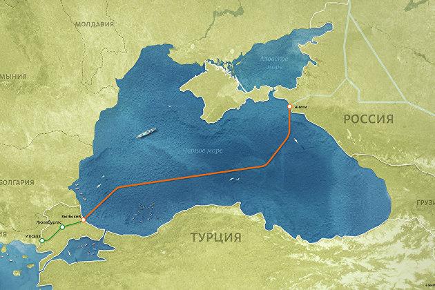 Поставки газа из России в Турцию упали на 70%