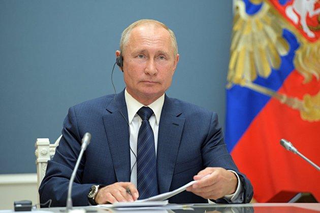 Президент РФ В. Путин принял участие в саммите в астанинском формате по сирийскому урегулированию