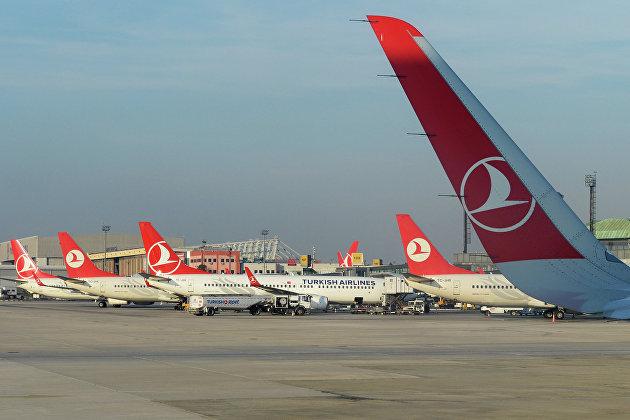 Turkish Airlines удвоит количество рейсов из Петербурга в Стамбул