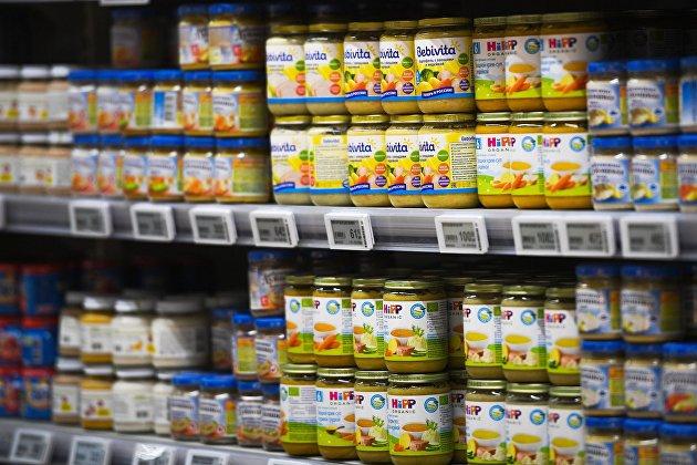 Траты россиян на детское питание за год подскочили на треть, средний чек составил 95 рублей