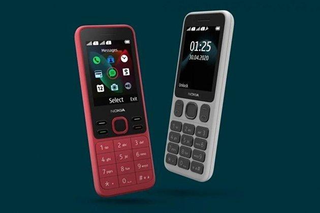 В РФ начались продажи кнопочных телефонов Nokia 125 и Nokia 150