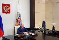 Президент РФ В. Путин провел совещание по ликвидации последствий наводнения в Иркутской области в 2019 году
