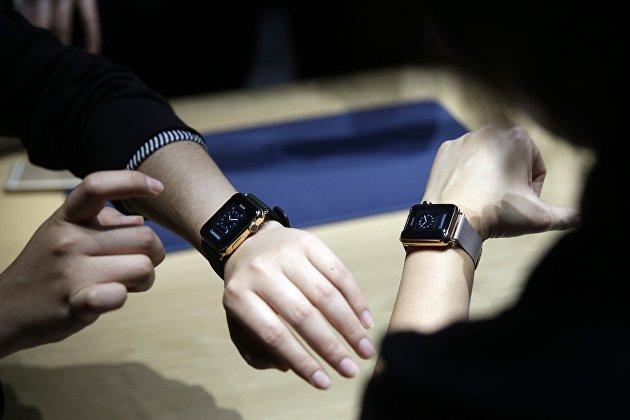 Новые цифровые часы от Apple