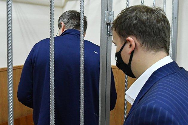 Избрание меры пресечения фигурантам дела замминистра энергетики А. Тихонова в Москве