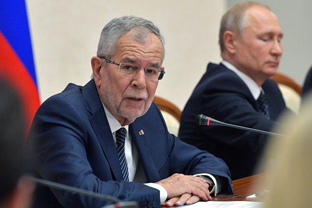 Президент Австрии— Зеленскому: «Северный поток— 2» неимеет отношения кНавальному