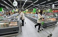 """"""" Супермаркет """"Перекресток"""" в Москве"""