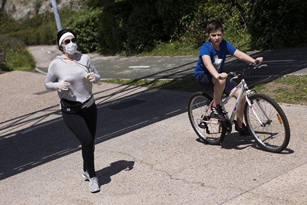 Ослабление карантинных мер в Мадриде
