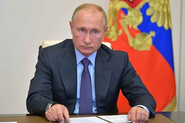 832099473 - Путин поручил выделить регионам дополнительные средства на борьбу с COVID