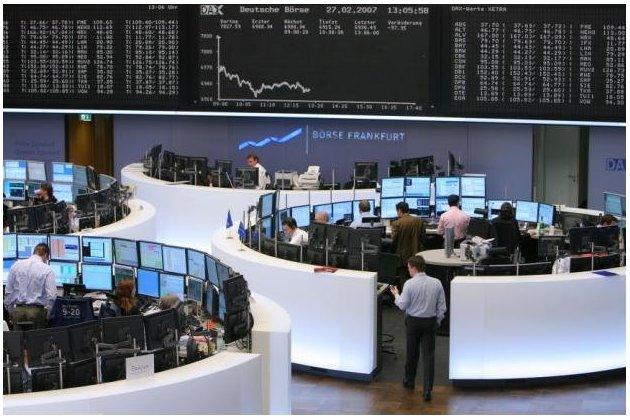 Европейские биржи в основном выросли на статистике из Германии