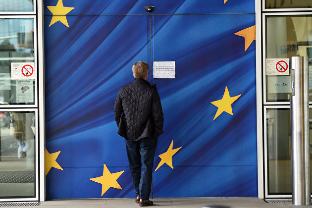 *Штаб-квартира Европейской комиссии в Брюсселе, Бельгия