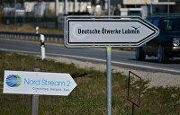 """"""" Строительство газопровода """"Северный поток-2"""" в Германии"""