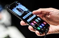 Презентация нового смартфона Samsung Galaxy