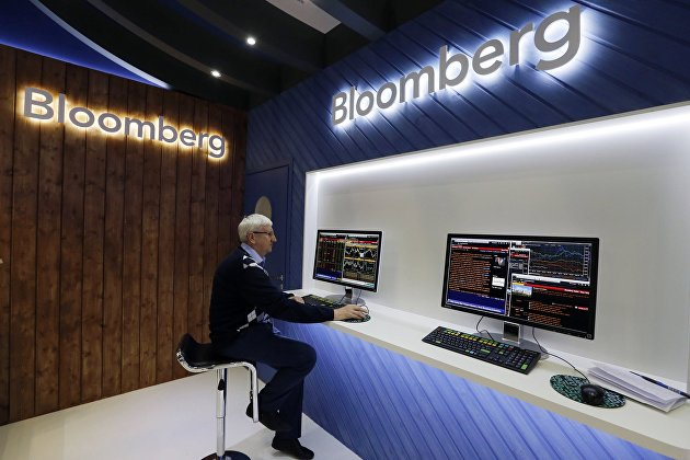 """Павильон компании """"Bloomberg"""""""