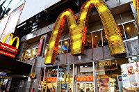 McDonald's на Таймс-сквер в Нью-Йорке