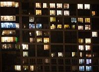 Окна жилых домов в Москве