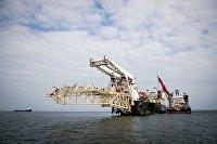 Началась укладка газопровода «Северный поток ‑ 2» в Финляндии