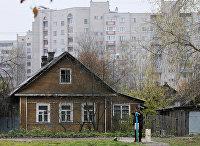 Строительство новых домов в Великом Новгороде