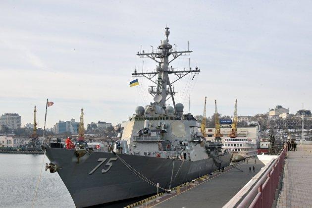 В Черное море зашел ракетный эсминец США