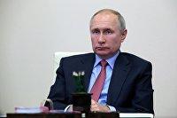 """"""" Президент РФ В. Путин провел совещание по экономическим вопросам"""