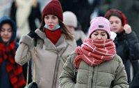 Морозы в Центральной России