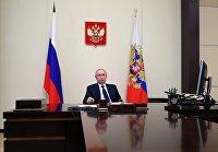 Президент РФ В. Путин провел встречу с руководителями фракций Госдумы РФ