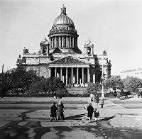 Исаакиевский собор (собор преподобного Исаакия Далматского) в Ленинграде