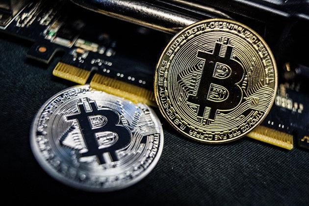 """"""" Сувенирные монеты с логотипами криптовалюты биткоин"""