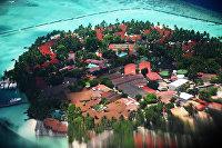 Один из Мальдивских островов
