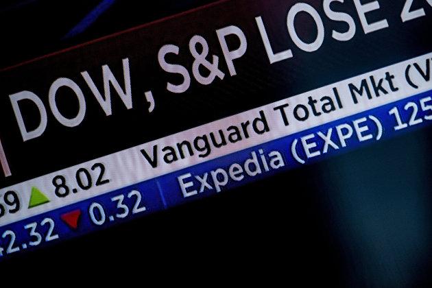 Биржевые индексы S&P 500 и NASDAQ упали на заявлениях Йеллен
