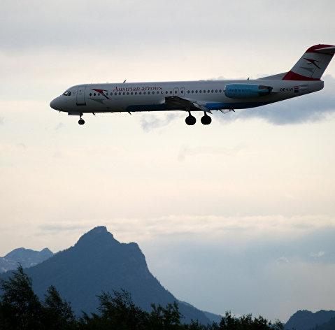 Austrian Airlines отменили рейс в Москву, проходящий над Белоруссией