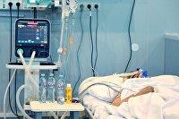 Лечение больных с COVID-19 в резервном госпитале на ВДНХ
