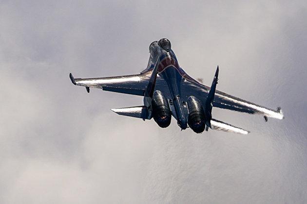 В Хабаровском крае разбился самолет Су-35С